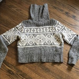 *H&M* Women Gray turtle neck sweater_S